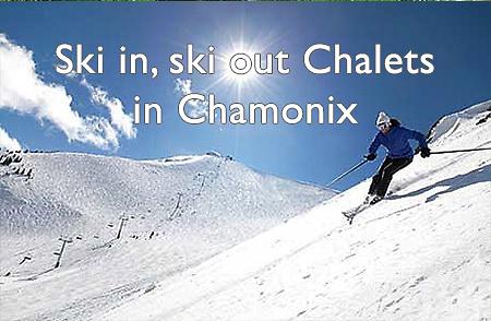 Ski in, ski out chalets...