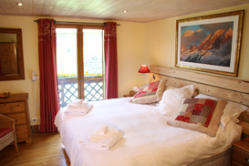 All bedrooms have balconies overlooking the ski piste!