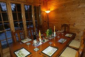 Chalet Ceraria - Dining Room