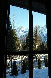 Chalet Ceraria - Dining Room View