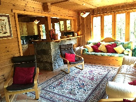 Chalet Ceraria - View of Lounge (1)