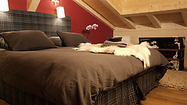Chalet Ardoise master bedroom (en suite)