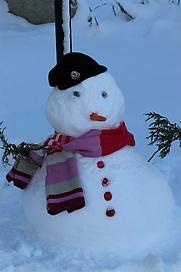 Monty The Snowman !!
